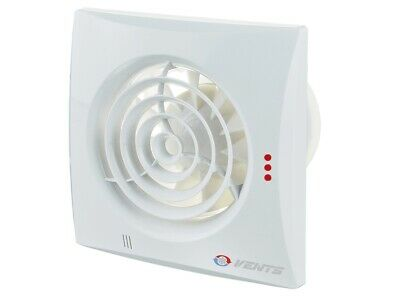 Badlüfter VENTS QUIET STANDARD  leise 25 dB(A), 7,5W, Ø 100 125  150 mm IP45