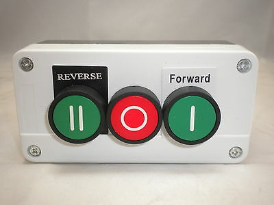 Forward Reverse Stop Station 3 Push Button Remote Control Slow-Fast Pb-Frs