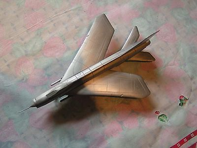 English Electric Lightning F6 Pewter/Diecast model, 1/72, vgc, unknown make