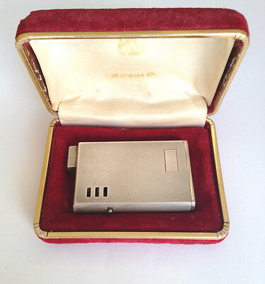 Ronson Sterling Silver 925 Lighter with Box Germany Accendini Accendino