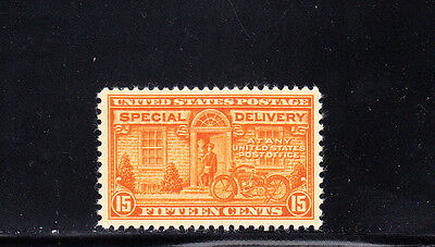 US Scott #E16, 15c Special Delivery Motorcycle Stamp, MNH