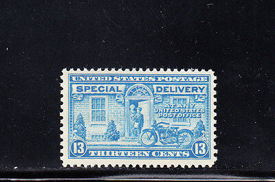 US Scott #E17, 13c Special Delivery Motorcycle Stamp, MNH