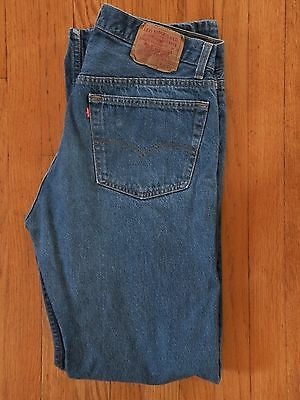 Vtg 1980's Levi's 501 Jeans 35 X 36 Made in USA