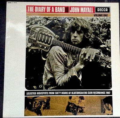 John Mayall The Diary Of a Band Volume One Original 1968 A1 Pressing NM