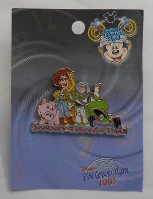 Disney Pin WDW Journey Through Time Pin Event 2003 Old & New Toys LE1500
