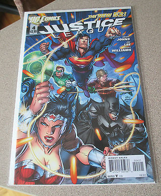 Justice League #4 Dc New 52 Andy Kubert Variant Cover Nm Geoff Johns, Jim Lee