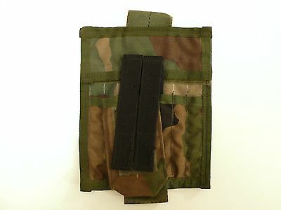 Old School/Gen Woodland Camo Commander/Admin Panel/Pouch (LBT/Eagle Industries)
