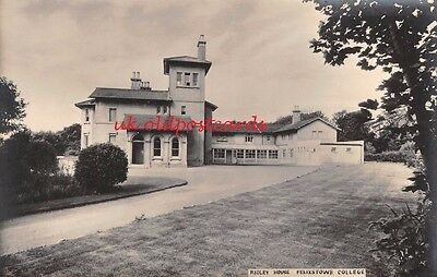 Suffolk - FELIXSTOWE, College, Ridley House, Real Photo, Plain Backed Postcard