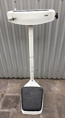 Vintage Industrial Retro Seca Metal Platform Scales Made In Germany 1978 Coburg