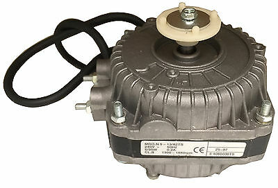 Commercial Square Fan Motor 5W 1300 ~ 1500Rpm 0.2A 240V