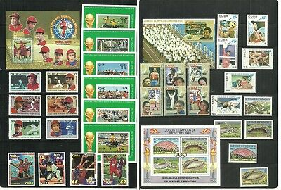 (C5-35-36)Sport and Olympics,Stome et Principe,and much more,MNH