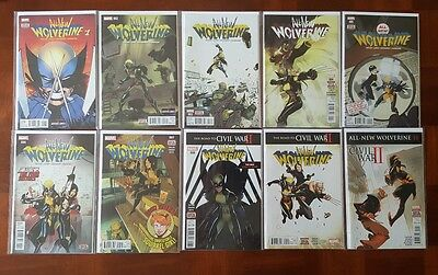 All-New Wolverine 1 - 17 & Annual 1