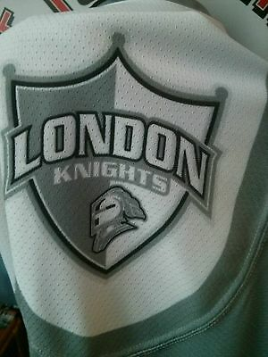 Game worn London Knights Brandon Crawley  jersey Memorial Cup champions CHL