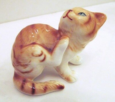 "Danbury Mint Cats Of Character ""start From Scratch"" Fine Bone China Figurine"