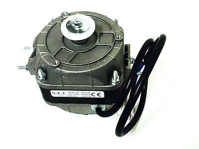Axial Fan Replacement - Square Fan Motor 16W 1300 ~ 1500Rpm 0.2A 240V