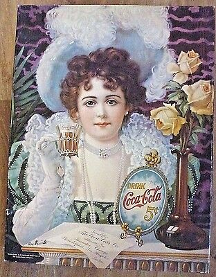 Springbok Vintage Coca-Cola 500+ Piece Puzzle Complete An Old Fashioned Girl USA