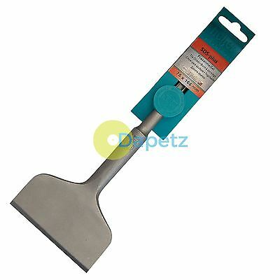 Heller Cranked Chisel SDS-Plus 75mm x 165mm Bit For Tiles Walls & Floor - German