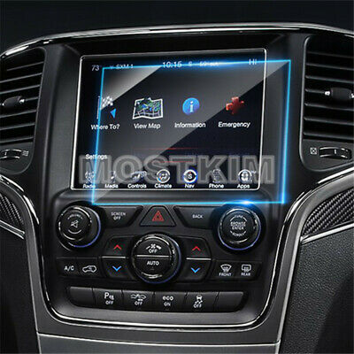 For Jeep Grand Cherokee Tempered Glass GPS Navigation Screen Protector 2014-2018