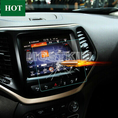 Tempered Glass GPS Navigation Screen Protector For Jeep Cherokee 2014-2018