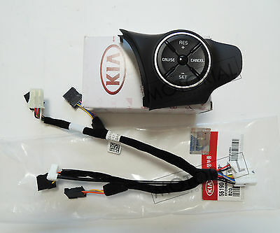 OEM Auto Cruise Control Switch + Ext Wire 2pcs set Heated For KIA SOUL 2014-2017