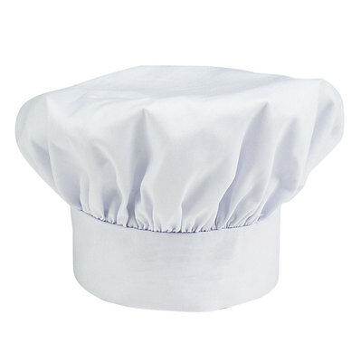 Chef Hat Cloth One Size Fit All Velcro Closure Free Shipping Usa Only