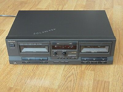 Technics RS-TR232 Stereo Tape Double Cassette Deck, HR-PRO