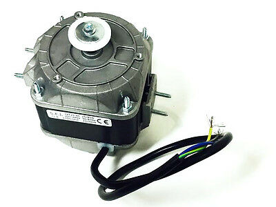 Axial Fan Replacement Square Fan Motor 25W Short Shaft 1300 ~ 1500Rpm 0.2A 240V