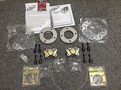 Honda Front Atv Disc Brake Conversion Kit Foreman Trx400 Trx450 S/es 1995-2004