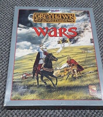 Greyhawk Adventures - Wars - Boxed Set AD&D TSR 1068 Complete & Unpunched