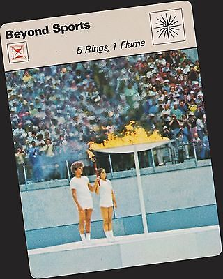 1977 Montreal Olympics Sportscaster Card #05-17 First Printing Mint From Cello