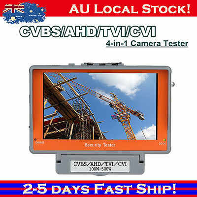 "4in1 Wrist CCTV Camera Monitor Tester 5"" CVBS/AHD/TVI/CVI 3.7V 4000mAh Battery"