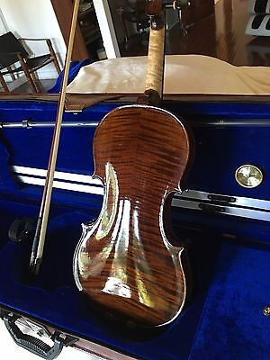 Very Unique Violin With Bow And Case