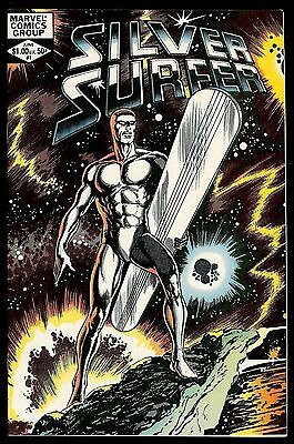 SILVER SURFER #1 (1982) APPEARANCE of GALACTUS & FANTASTIC FOUR! MARVEL! NM-