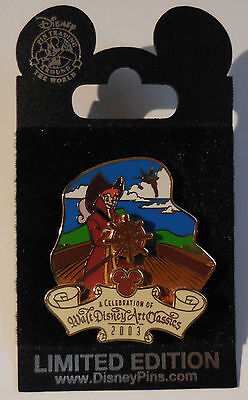 Disney Pin DCL/WDAC Adventure on the High Seas Peter Pan as Captain Hook LE1500