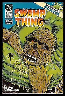 """Swamp Thing #67 (1987) """"hellblazer"""" Preview! Constantine Nbc Tv Show! Nm+"""
