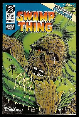 """Swamp Thing #67 (1987) """"hellblazer"""" Preview! Constantine Nbc Tv Show! Vf+"""