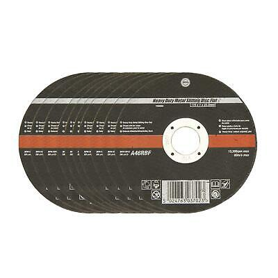 "Professional Thin Metal Cutting Discs x 10 115mm / 4.5"" Slitting Angle Grinder"