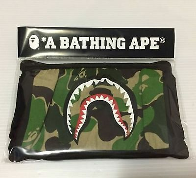 Bape Green Shark Face ape mask ayo and teo mouth mask for men and women Original