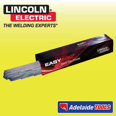 Lincoln Electric 2.5mm Easyarc 6012 Electrodes 4.5kg Pack - 60122550