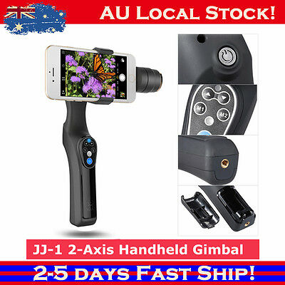 JJ-1 2-Axis Handheld Gimbal Phone Stabilizer for iPhone 7 Samsung Galaxy Xiaomi