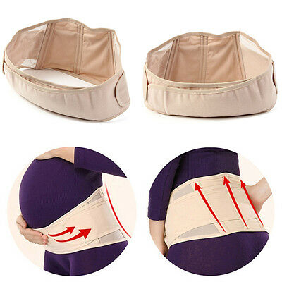 Maternity Pregnancy Band Belt Lumbar back Support Waist Belly bump Strap Lower