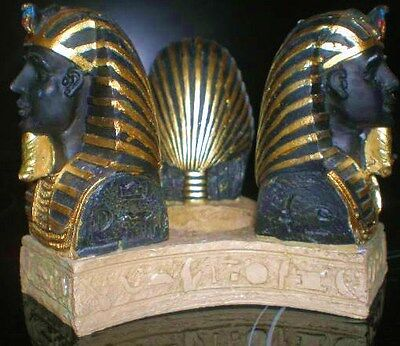 Latex Craft Mould Egyptian Tutankhamun Tea Light Holder Art & Crafts Hobby