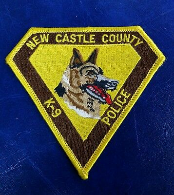 New Castle County, Delaware K-9 Police Shoulder Patch
