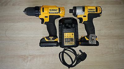 Dewalt Reconditioned DCD710 10,8v Compact Drill  & DCF815 10.8v Impact Driver