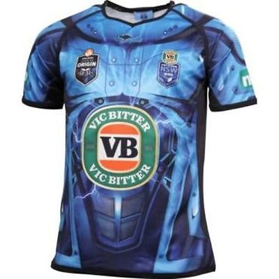 New South Wales State Of Origin Nsw Blues 2014 Mens Training Jersey