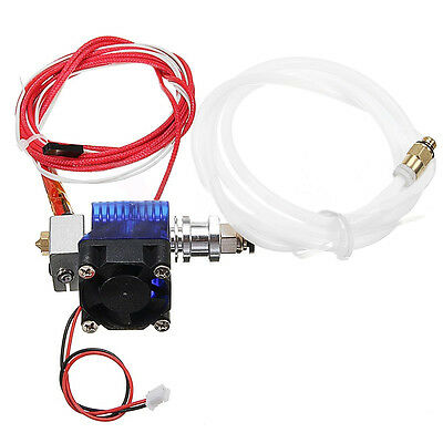 12V E3D V6 3D Printer Extruder J-head Hotend Bowden For 1.75/0.4mm Filament Fan