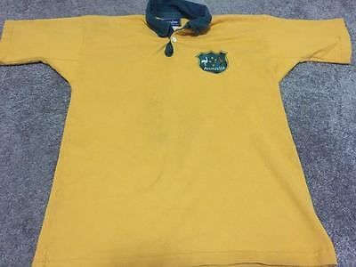 Vintage Australian Wallabies Rugby Union Jersey- Size Small