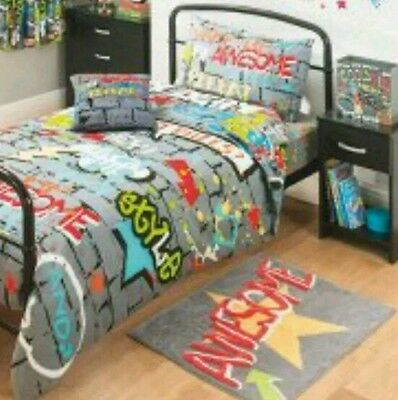 Teens/kids Awesome bedroom rug 100% cotton...Awesome xmas gift.!! Trendy/funky..