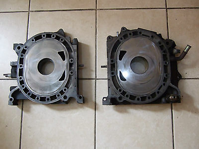 Mazda Rx8 192 03-08 Front & Rear Engine Housing Iron 4 Port