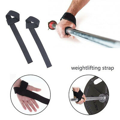 1PC Wrist Protection Gym Training Weight Lifting Bar Straps Hand Wraps Accessory